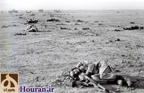 یادمان شهدای گمنام عملیات رمضان در سرزمین گمنامی + زید