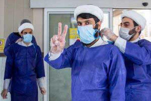 روایت طلبه جهادگر از خدمت به بیماران کرونایی