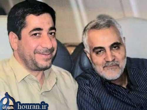 حاج قاسم سلیمانی پورجعفری  فداکاری حامد اصغری، محافظ شهید فخریزاده