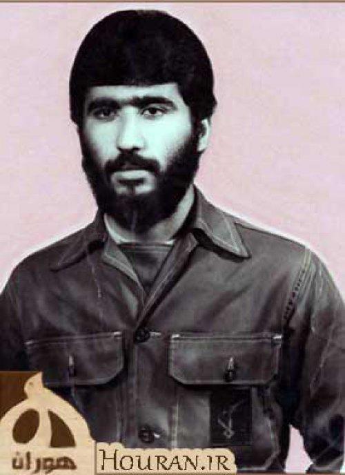 سردار شهید محسن اسحاقی فرمانده یگان آبی خاکی